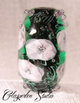 Violet Flowers Glasperle