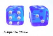 Würfel blau 3mm