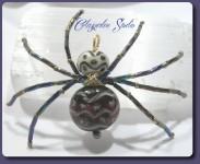 Spinne Kira Glasperlen