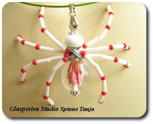 Spinne Tanja Glasperlen